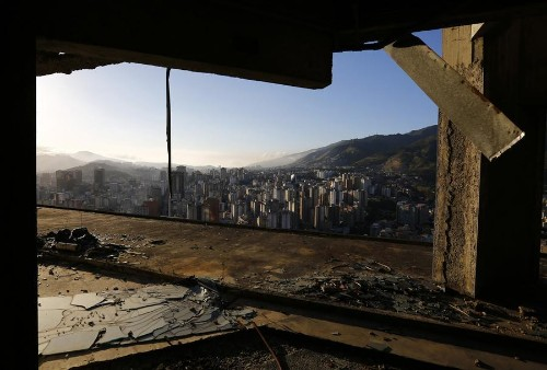 Squatters in Venezuela's 45-Story 'Tower of David'