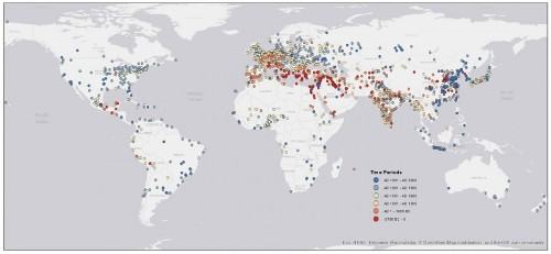 Mapping 6,000 Years of Urban Settlements