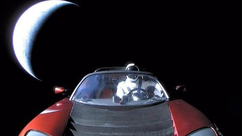 Where Is Elon Musk's Space Tesla Actually Going?