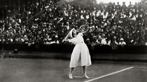 Wimbledon's First Fashion Scandal