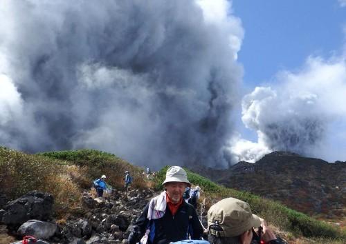 The Eruption of Japan's Mount Ontake