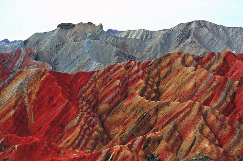 The Dramatic Landscape of China's Gansu Province