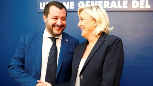 Emmanuel Macron and Matteo Salvini Offer Two Visions for Europe