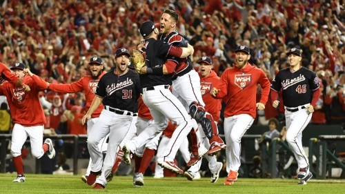 The Washington Nationals' Persistence Paid Off