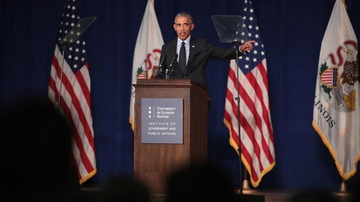 Barack Obama Makes the Case Against Trump
