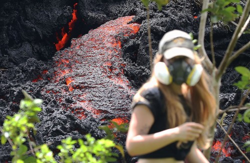 Spectacular Images of the Recent Eruptions in Hawaii