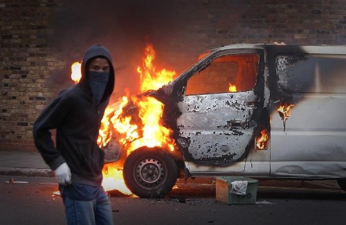 Riots in London