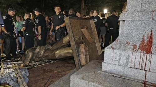 The Dramatic Fall of Silent Sam, UNC's Confederate Monument