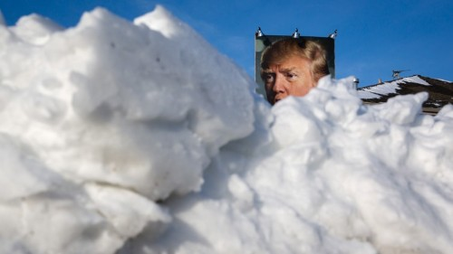 There's Snow on TV, so Trump's Tweeting About Climate Change