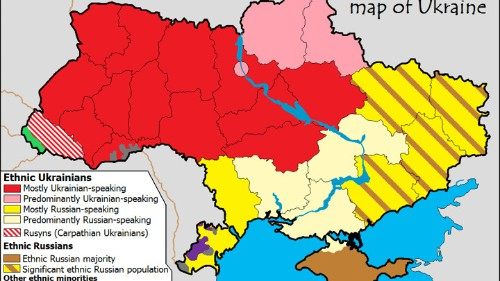 Is It Time for Ukraine to Split Up?