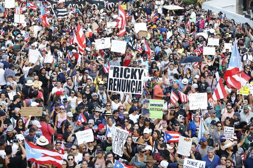 Photos: Days of Protest in Puerto Rico