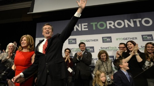 Exit Ford, Enter Tory