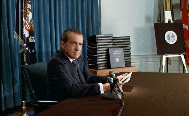 How Richard Nixon Fooled Friends and Influenced People