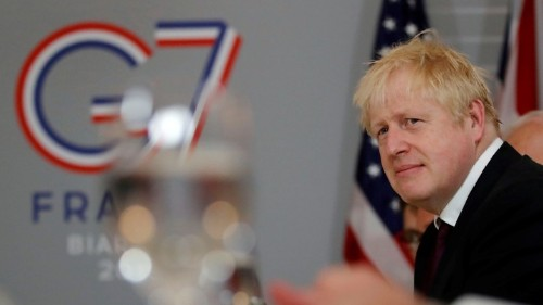 Boris Johnson's G7 Balancing Act With the U.S. and EU
