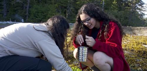 This Alaskan Science Class's Exam: Wilderness Survival
