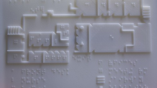 3-D Printing Maps to Help the Blind