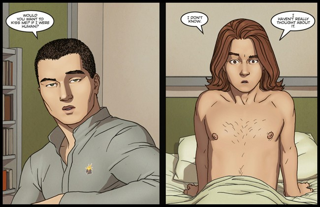 The Sci-Fi Comic Book That Portrays Gay Romance as Completely Normal