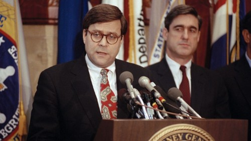 The Complicated Friendship of Robert Mueller and William Barr