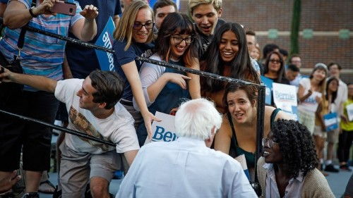 Bernie Sanders's Biggest Test Yet With Latino Voters