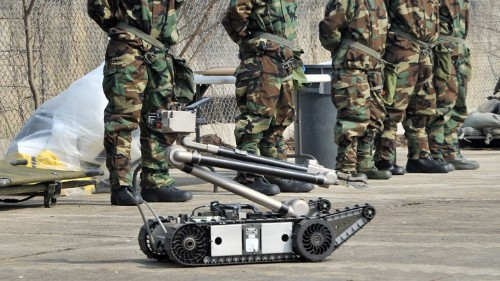 What Happens When Your Bomb-Defusing Robot Becomes a Weapon