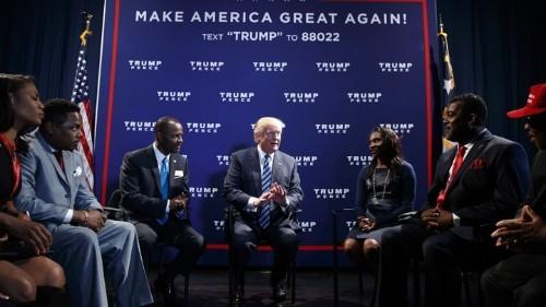 Trump's 'Voter Suppression Operation' Targets Black Voters