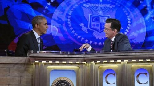 Barack Obama, Comic Anchor?