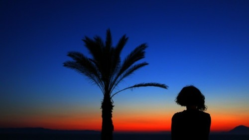 Why Do Things Look Blue at Dusk and Dawn?
