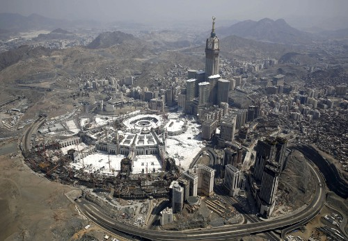 Mecca Then and Now, 128 Years of Growth