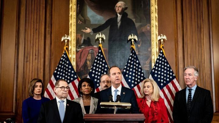 Donald Trump Impeachment - cover