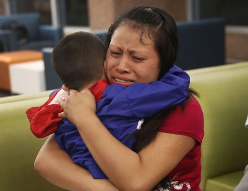 Photos: The Agonizing Realities of Family Reunification