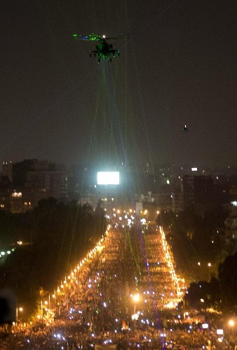 Millions March in Egyptian Protests