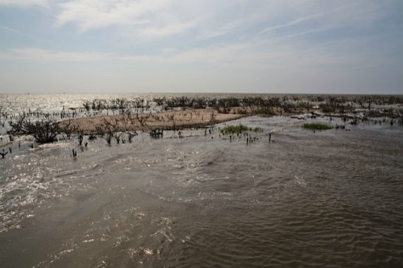 Three Years After the BP Spill, Tar Balls and Oil Sheen Blight Gulf Coast