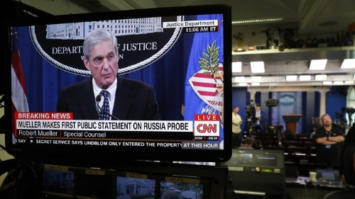 White House and Trump React to Mueller Statement