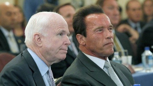 Arnold Schwarzenegger Condemns Trump's Attacks on McCain