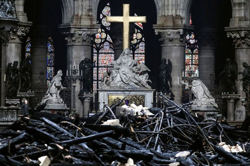 After the Fire: Photos From Inside Notre-Dame Cathedral