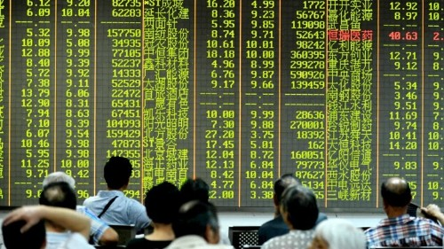 Who Crashed China's Stock Market?