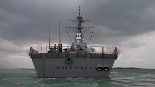 Service Members Discuss USS John S. McCain Scandal
