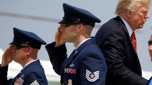 Trump Won't Tell Americans How Many Troops He Is Risking