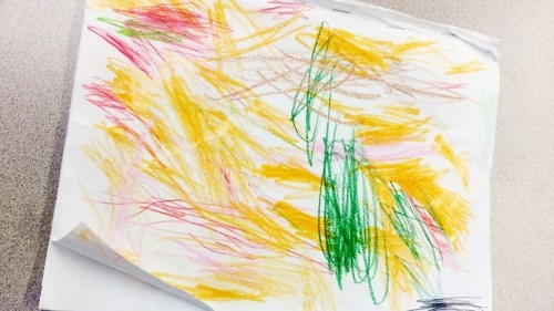The Hidden Meaning of Kids' Shapes and Scribbles