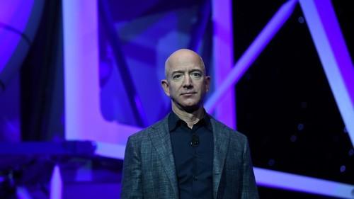 It's Jeff Bezos's Planet Now