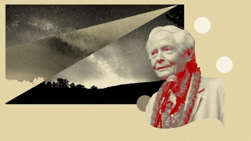 W. S. Merwin's Poetry Finds Meaning in Emptiness