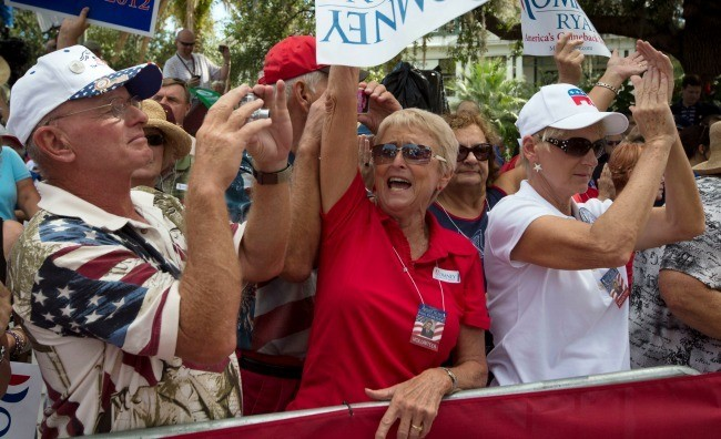 Are Seniors Souring on the Republican Party?