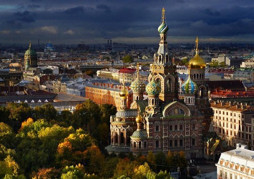 St. Petersburg From Above