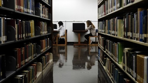 College Students Just Want Normal Libraries