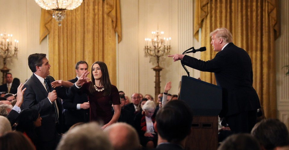 The 10 Most Dumbfounding Moments From Trump's Post-Election Press Conference