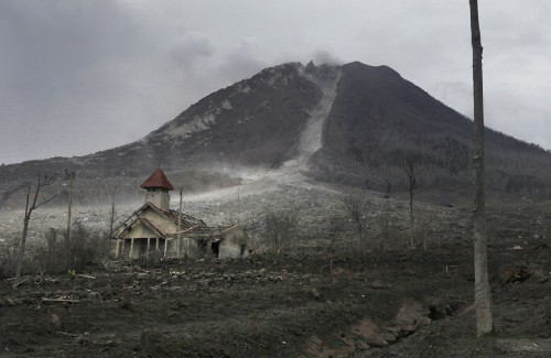 Volcanic Ghost Villages in Indonesia