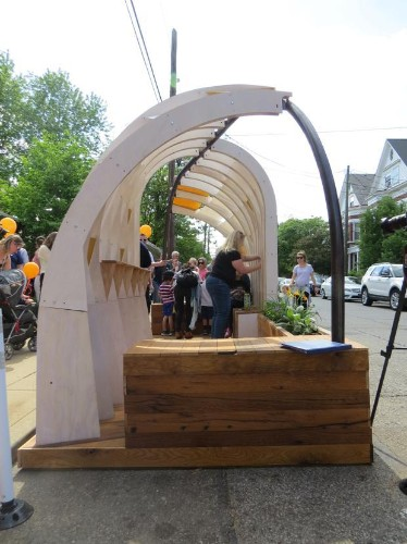 These Whimsical Parklets Promote Walkability