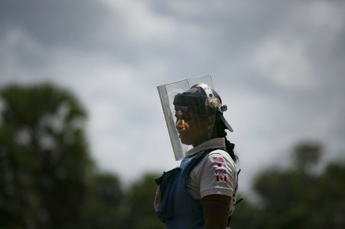 The Women Who Are Clearing the Minefields in Sri Lanka