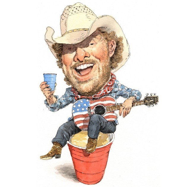 Toby Keith in Trump's America