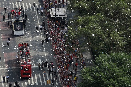 Photos of the 2019 Women's World Cup Champions Victory Ticker-Tape Parade